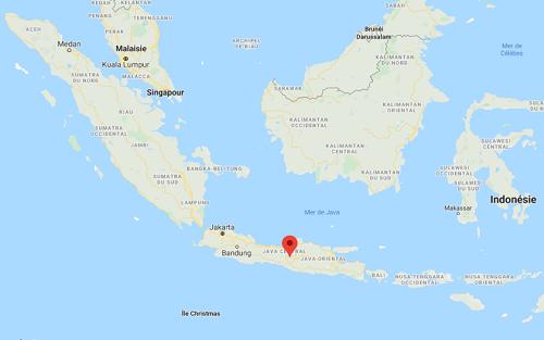 Le volcan Merapi est entré en éruption - DR