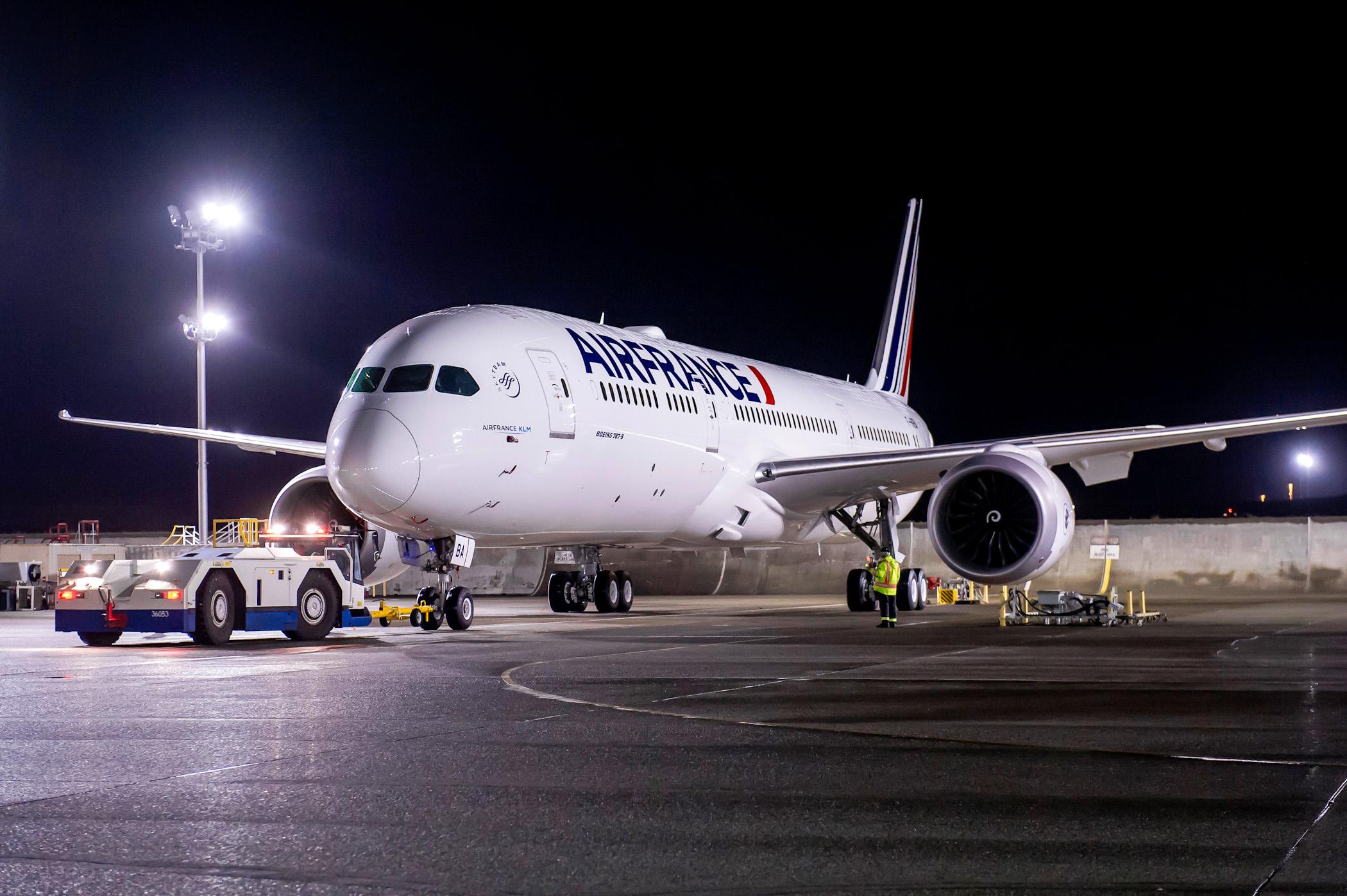 Air France ne prévoit pas un retour à la normale pour ses vols en Chine avant le 29 mars © AF
