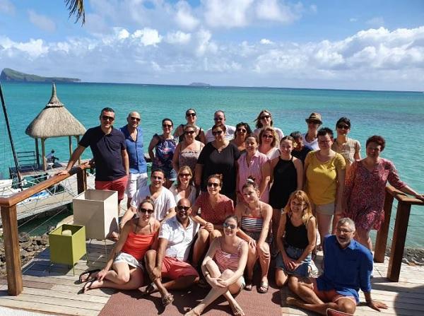 Du 29 janvier au 2 février 2020, vingt agents de voyages ont pris la direction de l'Île Maurice - DR
