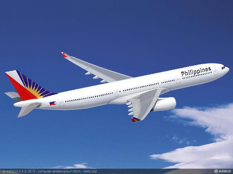 Philippine Airlines dispose d'un accord avec British Airways permettant de rejoindre Londres Heathrow (vol BA à réserver en classe V ou O). - Photo Airbus