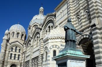 3 visites gratuites de 30 minutes auront lieu, notamment au départ de la cathédrale de la Major - DR : OT Marseille