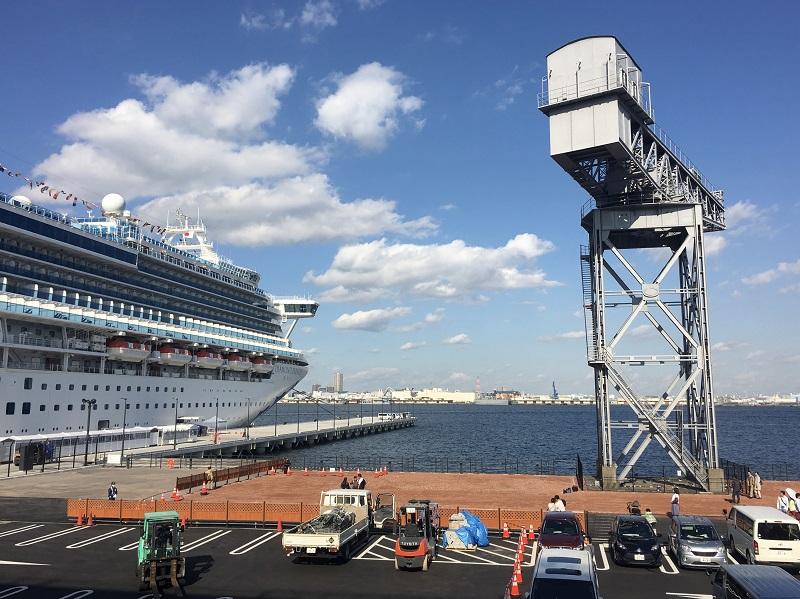 Le Diamond Princess dans le port de Yokohama en décembre 2019 - DR : Wikipedia