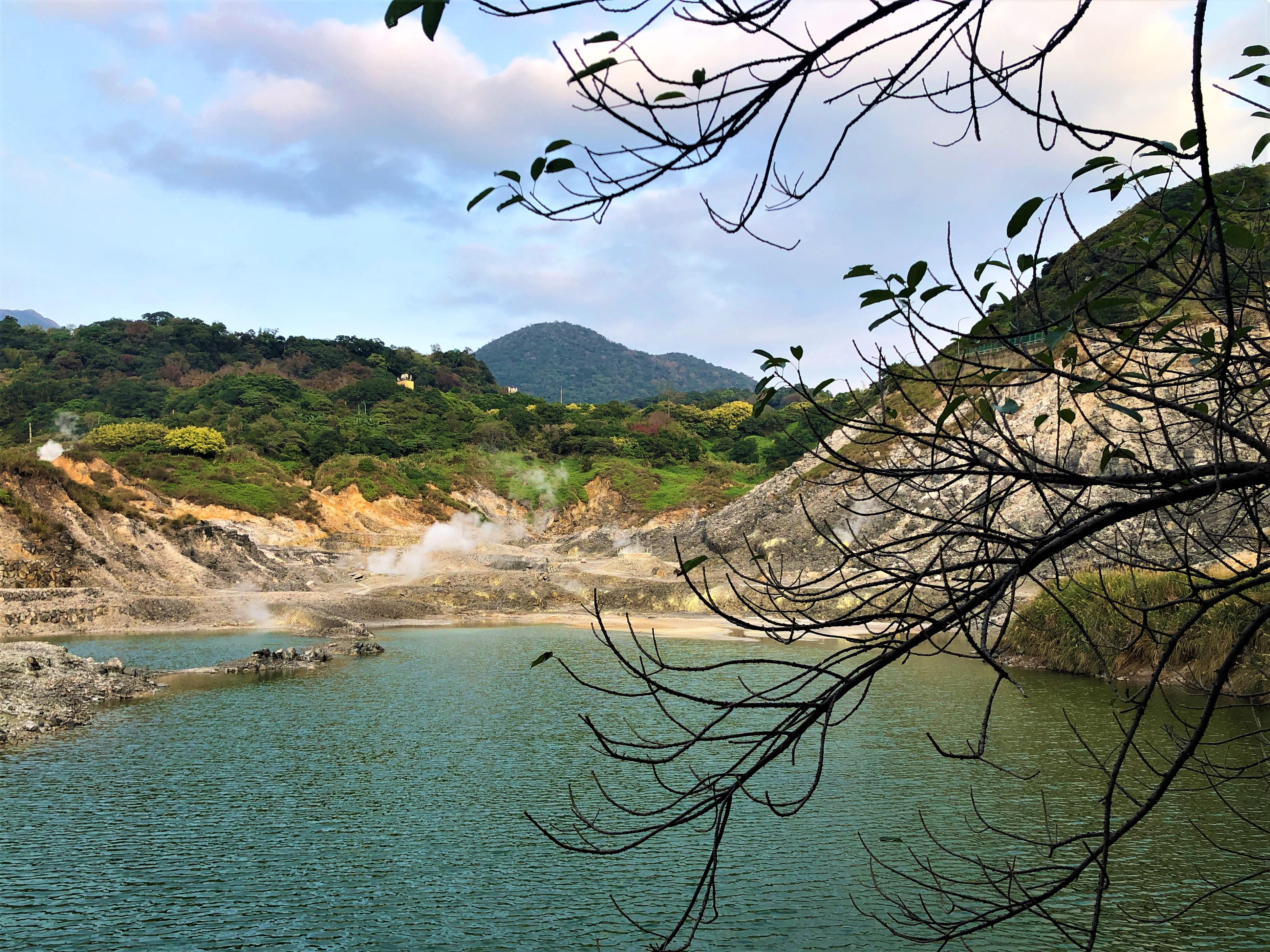 A peine à quelques kilomètres de Taipei, la nature reprend ses droits au parc national de Yangmingshan /crédit photo JDL