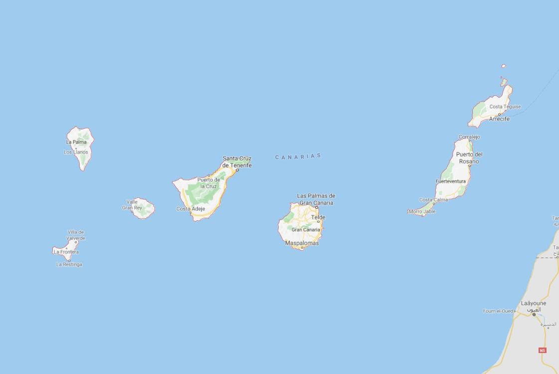 L'Office du Tourisme des Canaries annonce que tous les aéroports sont à nouveau opérationnels à l'exception de Tenerife Sur - DR