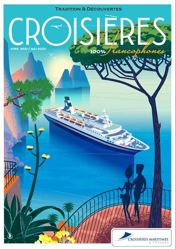 Croisières Maritimes & Voyages : la brochure en cours de distribution