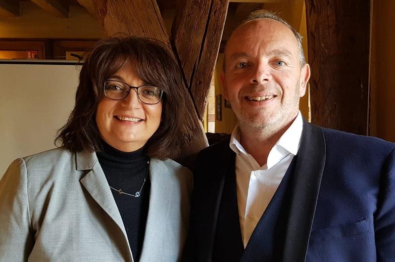Muriel Bougeard, directrice commerciale et Cyril Cousin, directeur général de Visit Europe - Photo CE