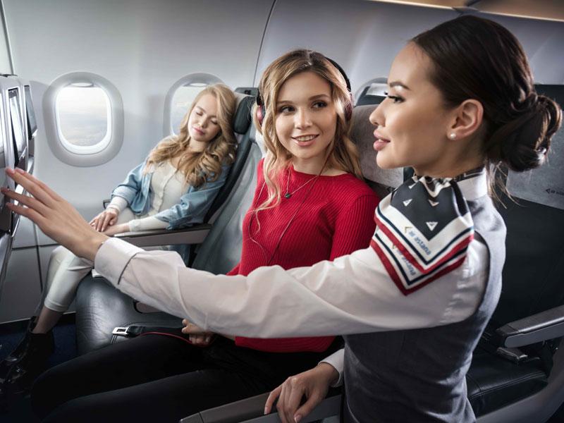 Classe économique Air Astana