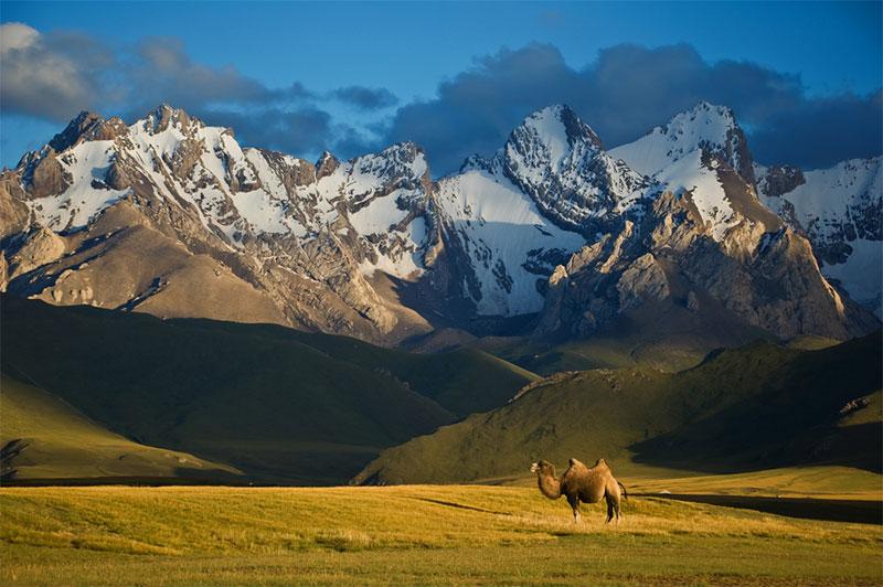 Nature pure au Kirghizistan
