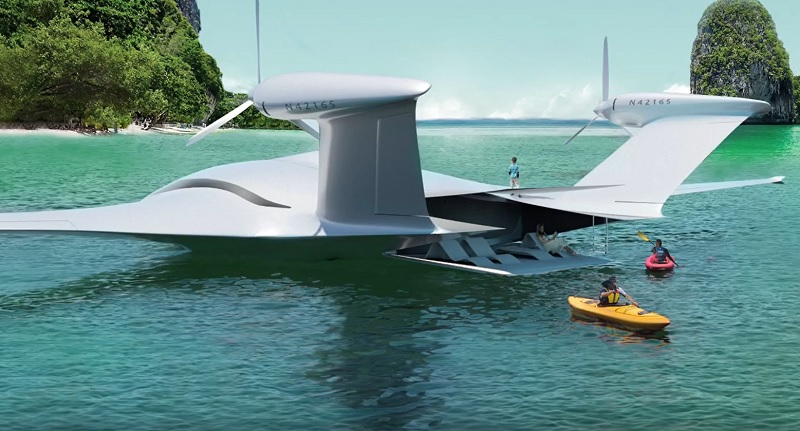 Eenuee est un avion qui pourra transporter 19 personnes sur près de 1 000 km - Crédit photo : Eenuee