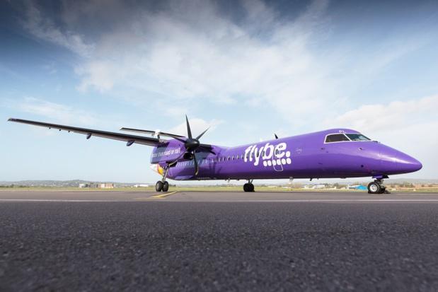 Les appareils de la compagnie Flybe cloués au sol - DR : Flybe