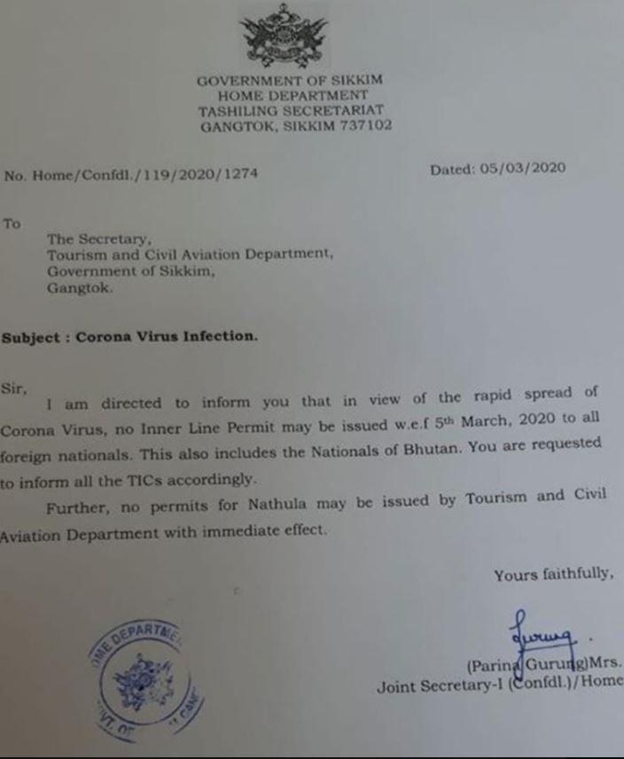 Inde: Interdiction d'entrée au Sikkim pour les étrangers