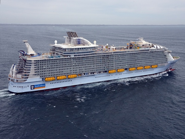 Le Symphony of the Seas est le 4ème navire de la classe Oasis de Royal Carribean International.- DR Royal Carribbean International