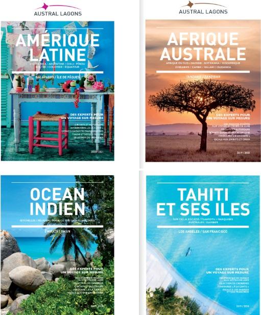 Les brochures Austral Lagons - DR