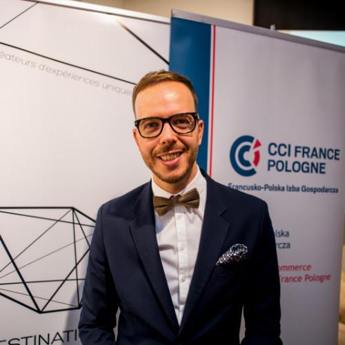 Julien Hallier, co-fondateur et directeur général de Destination Pologne - DR