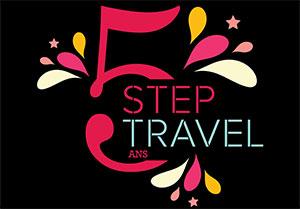Une nouvelle brochure pour Step Travel