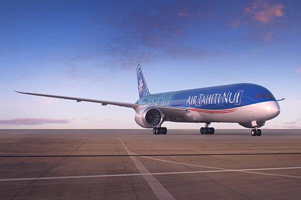 Air Tahiti Nui, qui transite par Los Angeles, travaille actuellement à adapter son programme de vol - DR : Air Tahiti Nui