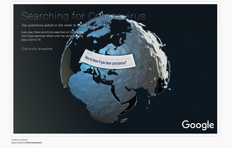 Google : où en sont les requêtes autour du coronavirus et du voyage ?