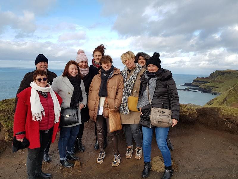 De Dublin à Belfast, 9 AGV ont découvert la beauté sauvage de l'Irlande et se sont immergés dans sa culture celtique, le temps d'un long week-end - DR : TUI France