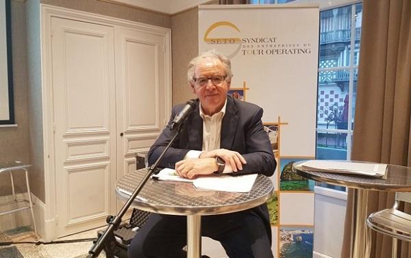 Pour René-Marc Chikli le prochain problème des TO sera de discuter avec IATA et la distribution - DR