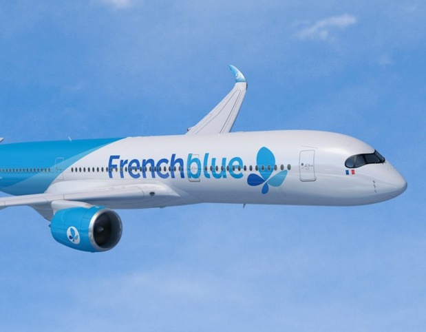 Le vol French bee opéré le 15 mars au départ de Paris a ainsib[ permis d'acheminer 150 clients à l'aller et 180 au retour /crédit photo FB