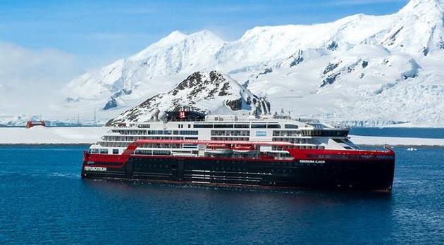 Les croisières d'expédition seront stoppées jusqu'au 28 avril et les croisières à bord de l'Express Côtier de Norvège jusqu'au 19 avril 2020. - DR