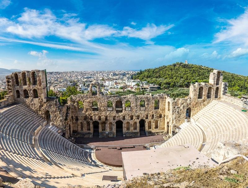 En Grèce, le coronavirus dicte sa loi, mais le nombre de cas est faible - Crédit photo : Depositphotos @bloodua