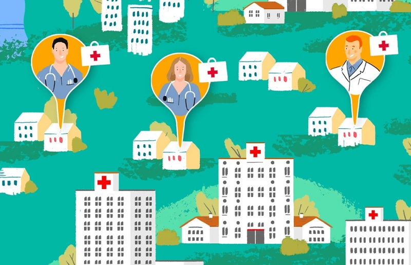 Airbnb met en relation des personnels médicaux et travailleurs sociaux mobilisés contre le Covid-19 avec des hôtes proposant un logement gratuit - DR