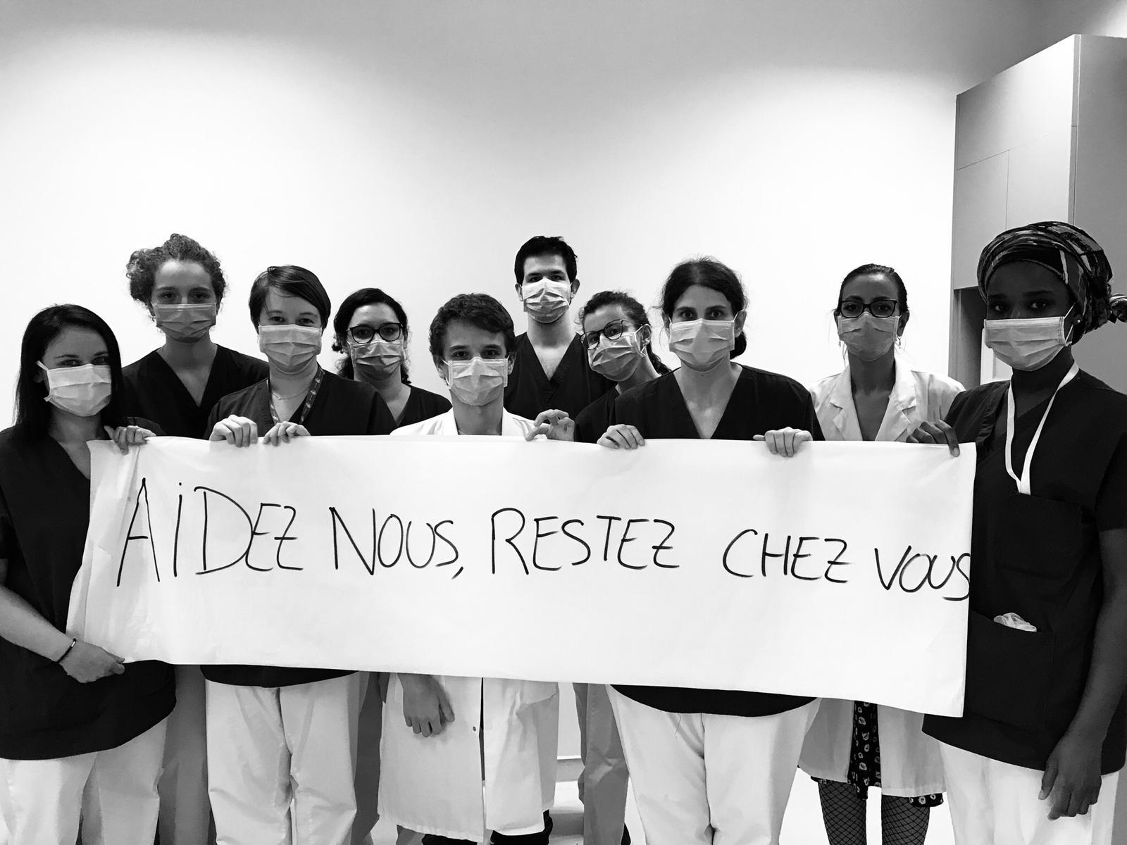 3 établissements Logis accueillent depuis plusieurs jours du personnel de santé - Crédit photo : compte Twitter @GL_Abou