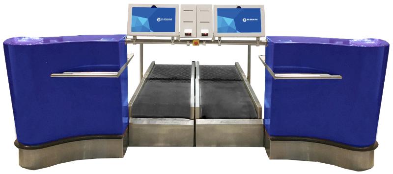 lenium Automation propose des systèmes d'automatisation personnalisés pour les passagers et les bagages.  Les produits intégrés au matériel et aux logiciels de l'entreprise permettent aux aéroports et aux compagnies aériennes de contrôler l'expérience d'embarquement de bout en bout. /crédit photo Elenium Automation