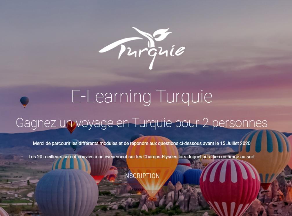 Elearning Turquie disponible jusqu'au 15 juillet 2020 - DR