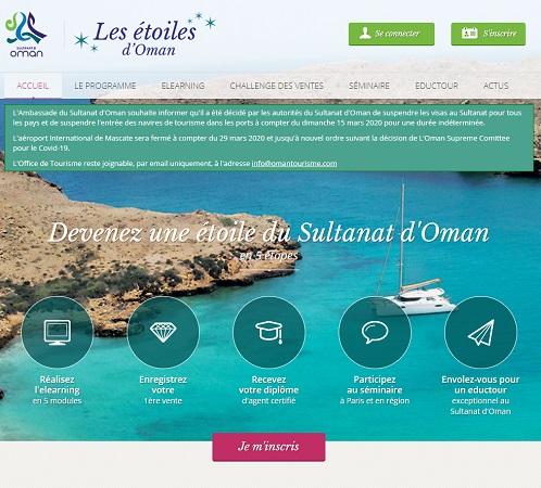 E-learning « Les Etoiles d'Oman » - DR