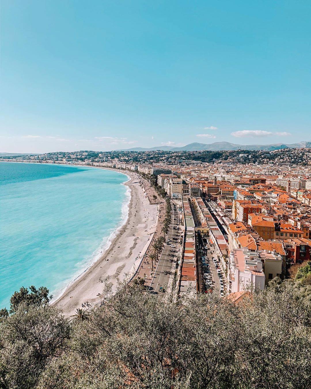 La baie des Anges-DR Nice Tourisme