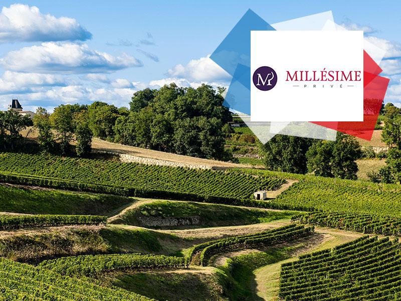 Vignoble de Bordeaux - DR Millésime Privé