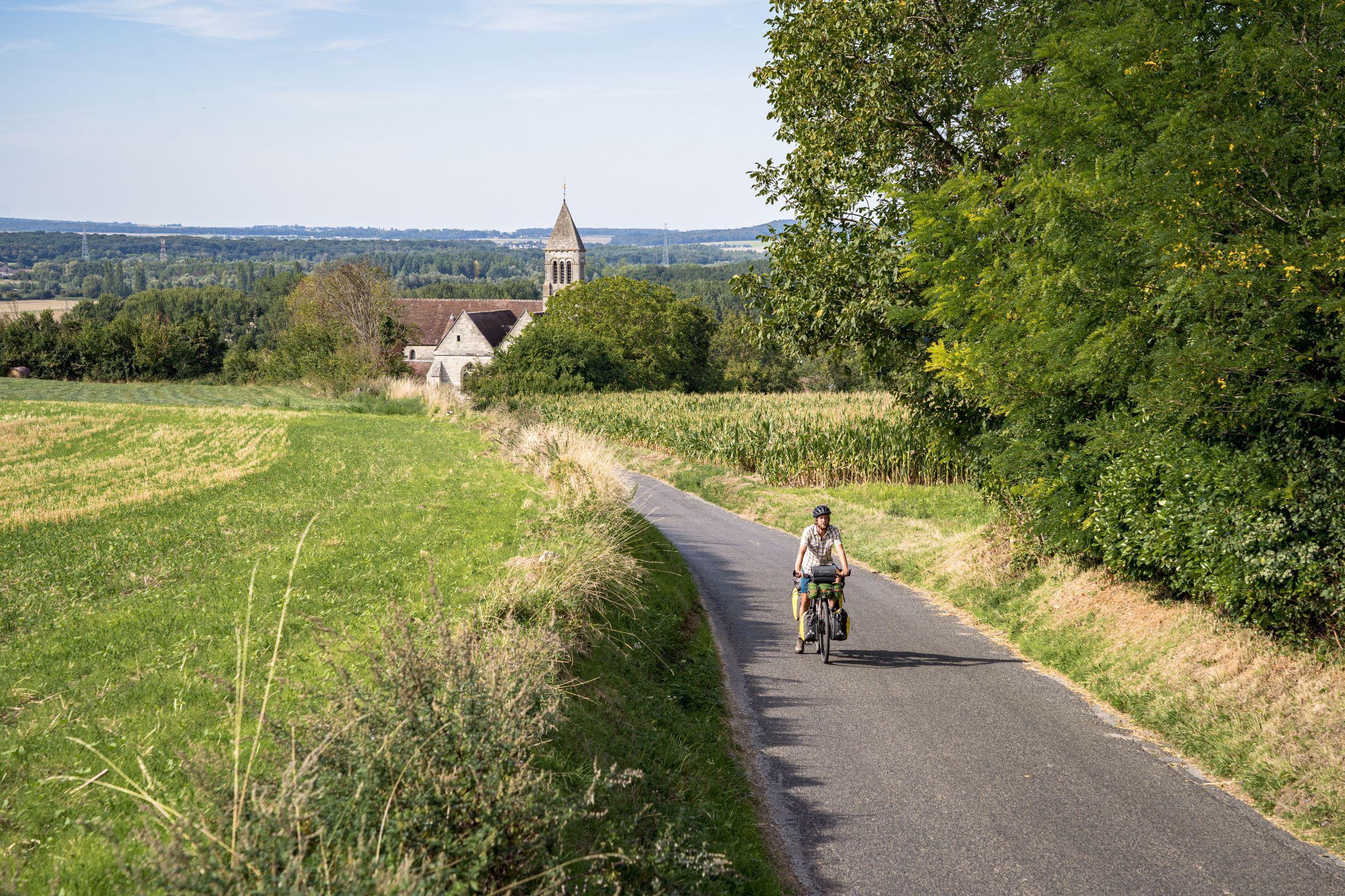 Verberie, EV3 Scandibérique-DR Un monde à vélo
