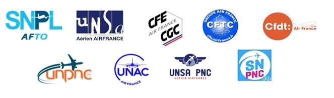 Différend entre les syndicats d'Air France et ceux de KLM...