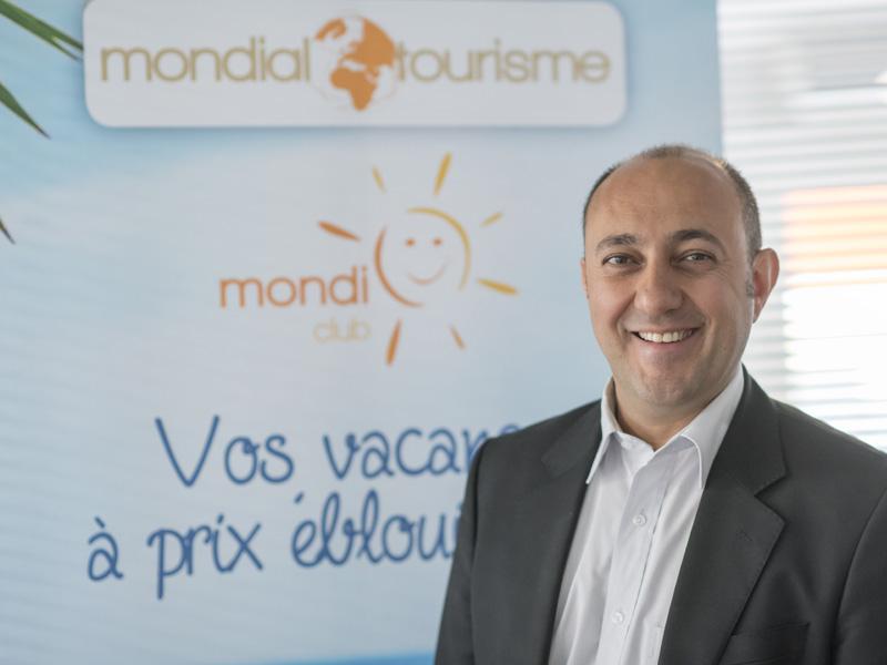 Selatt Erdogan, directeur commercial de Mondial tourisme - DR