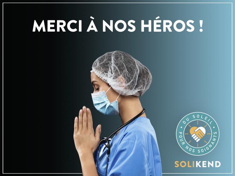 Solikend a mis sur pied un dispositif pour soutenir les soignants - DR