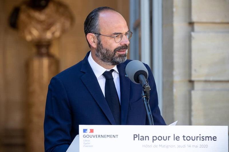 """""""nous avons pris nous même cet engagement. C'est une décision des professionnels du tourisme"""" selon Jean-Pierre Mas - Crédit photo : Compte Facebook Edouard Philippe"""
