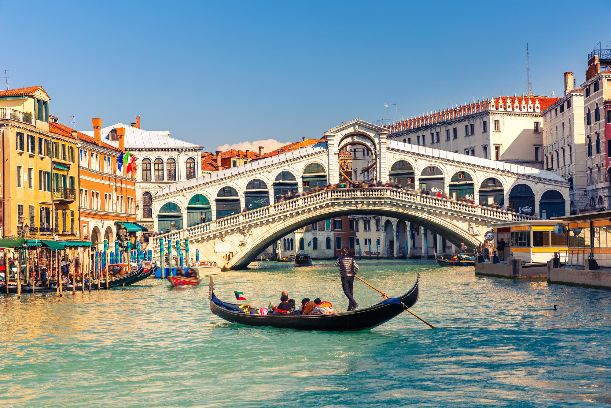 Venise, terriblement touchée par la pandémie, de nouveau accessible aux visiteurs /crédit DepositPhoto