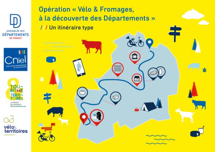 Vélo et fromages: échappées belles et savoureuses à portée de roue