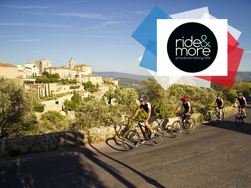 DR @rideandmore - Vélo électrique dans le Lubéron