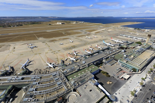 """Pour l'UAF réclame """"un véritable plan en faveur de la reconstruction de la connectivité de notre pays"""" - Crédit photo : Aéroport Marseille Provence"""
