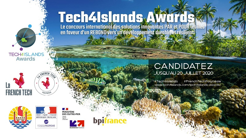 """Les start-up intéressée par le concours """"Tech4Islands"""" ont du 26 mai au 20 juillet pour candidater - Crédit photo : Tech4Islands"""