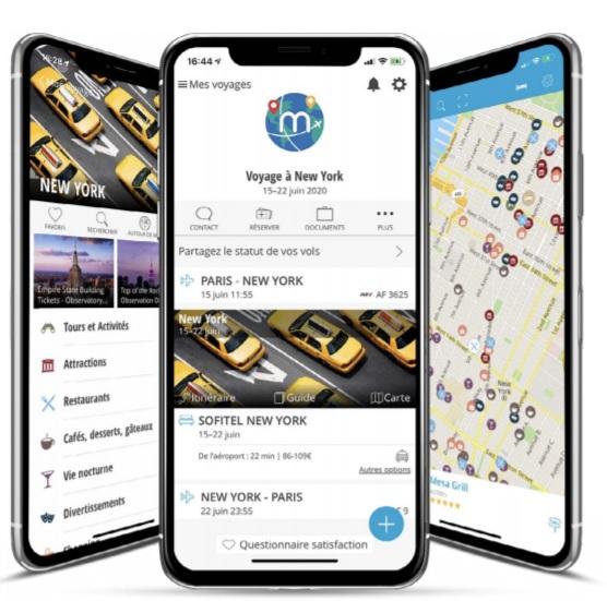 mTrip propose des solutions mobiles destinées à l'industrie du voyage  - Crédit photo : mTrip