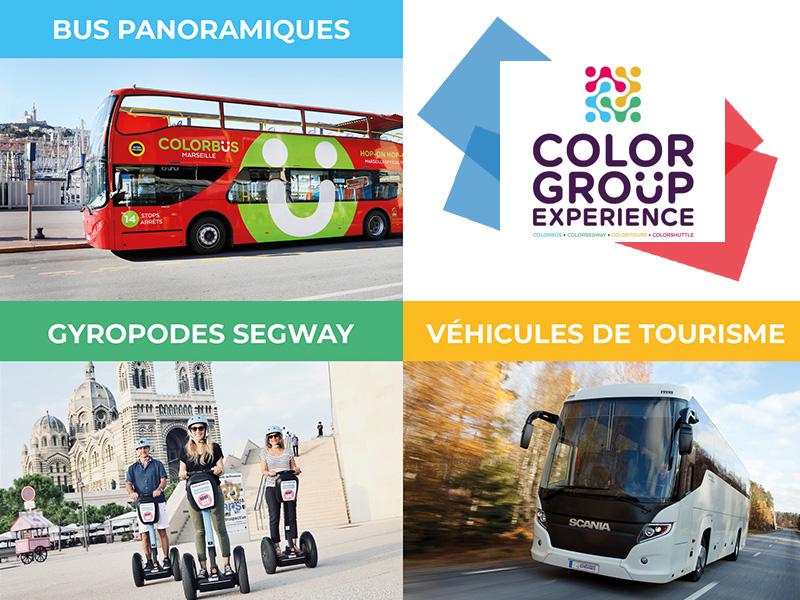 ColorGroüp Experience, opérateur touristique et de transport de référence