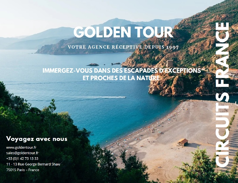 La brochure concoctée par Golden Tour - DR