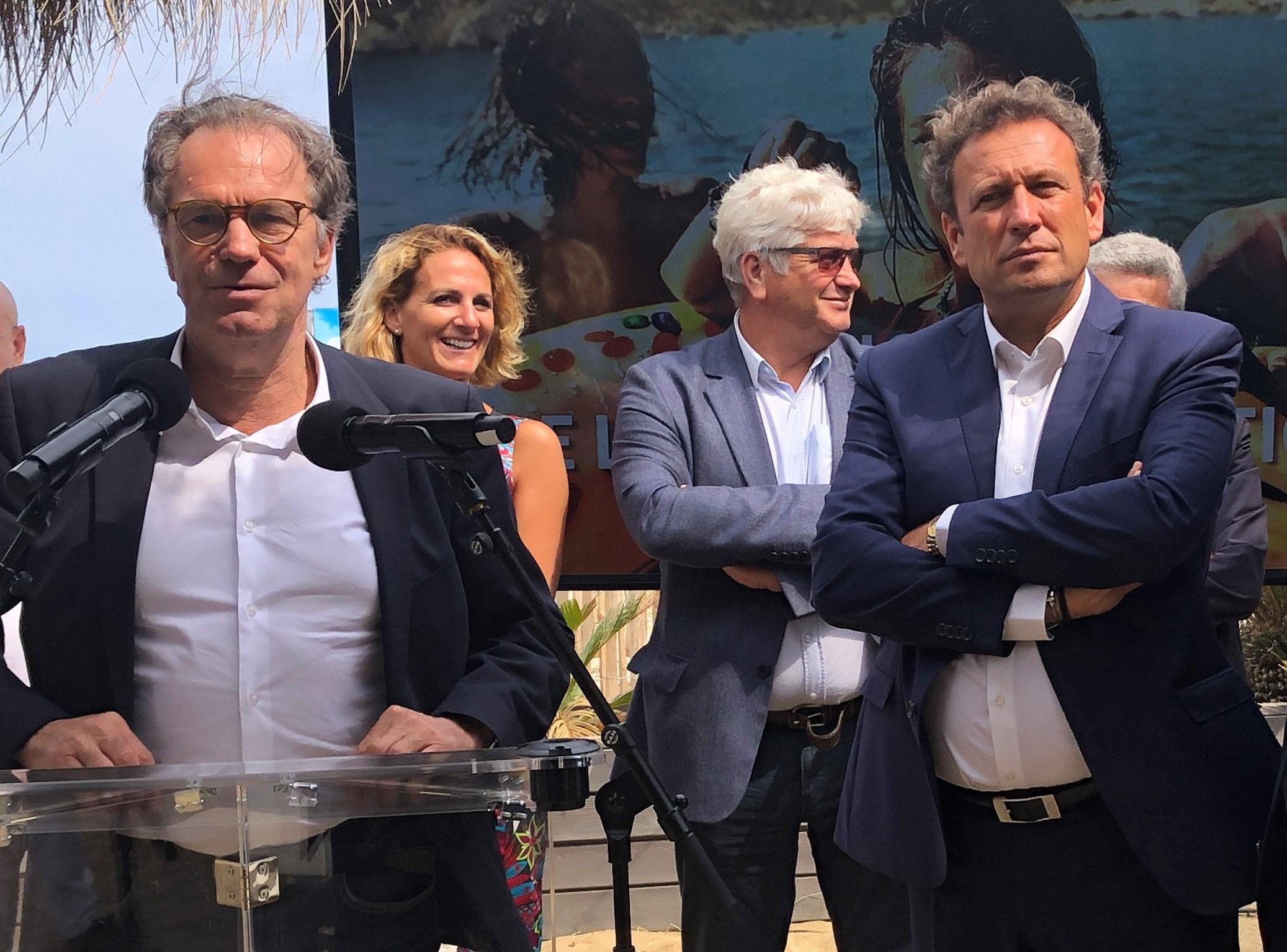 Renaud Muselier et François de Canson, président du CRT SUD /  crédit photo JDL