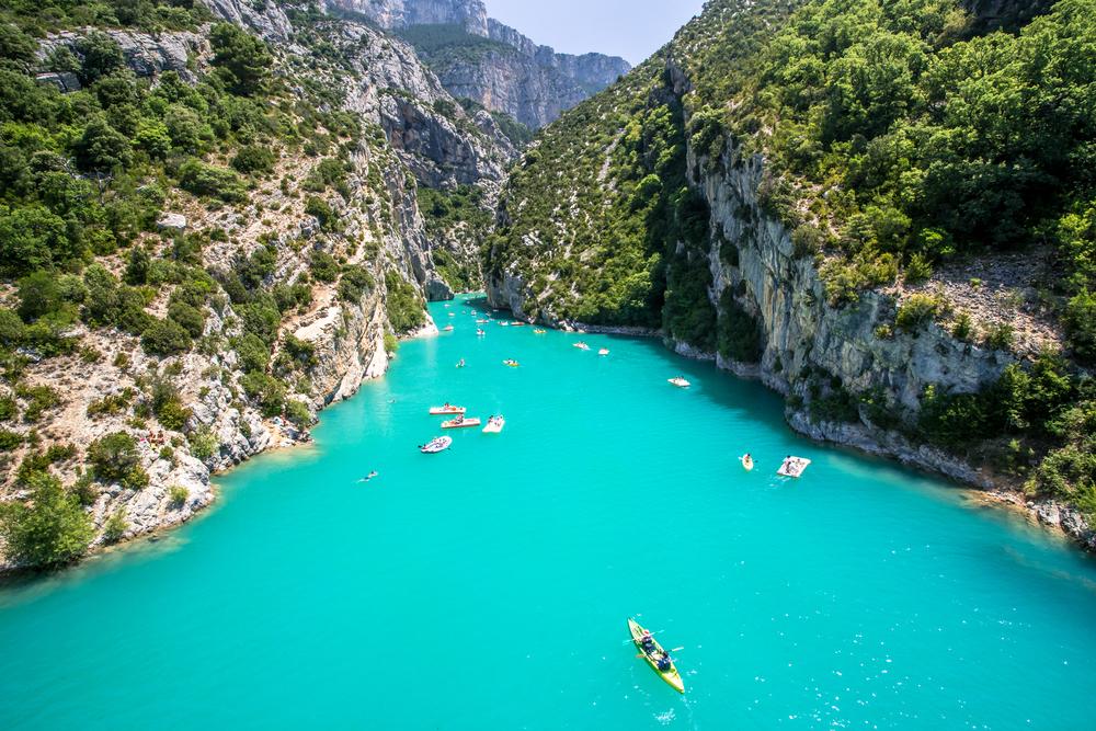 Cet héritage géologique forme le plus grand canyon d'Europe. Il est dans le top 3 des canyons les plus beaux et les plus impressionnants du monde ! - DR : DepositPhotos