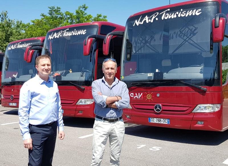 Une nouvelle équipe de direction pour NAP, avec Alain Bouzemane (PDG, à droite) et Olivier Moncoudiol (responsable commercial et communication, à gauche) - DR : A.B.