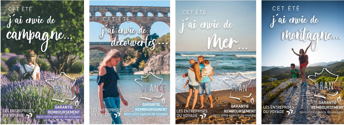 """Les Entreprises du Voyage lancent """"Toutes vos envies de France sont dans votre agence de voyages"""""""